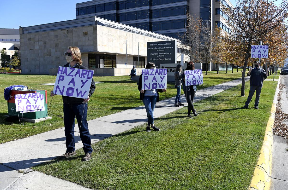 Missoula caregivers demand hazard pay, PPE, other resources